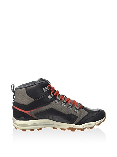 Merrell All Out Crusher Mid - Men's Outdoor Mid Shoes - Black Grey Red (41)