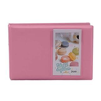 Shopizone Mini 64 Pockets Album for Instax Mini 8/9 / 9+ Accessory Travel Diary to Store Memories – Pink 31chciRVPFL