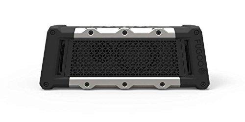 FUGOO Tough - Portable Rugged Bluetooth Wireless Go Anywhere Speaker Waterproof Shockproof Mud-proof Snow-proof