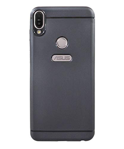 COVERBLACK Rubber Soft Back Cover for Asus Zenfone Max Pro M1   ZB601KL 4A005IN   Black