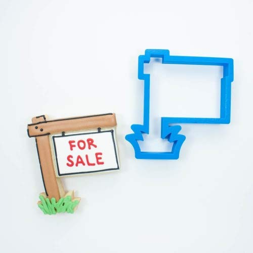 Real Estate Sign Cookie Cutter (3.5 in - Standard)
