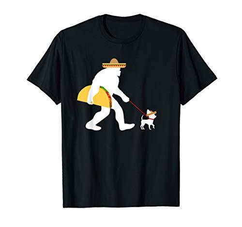 Big Taco Sombrero Chihuahua Dog Bigfoot Cinco de Mayo