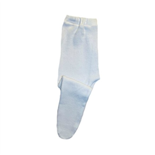 Jacqui's Baby Girls' Pretty White Pointelle Tights - Soft Elastic Waist, 0-3 (Pointelle Tights)