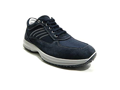 Sportiva Blu 41 MainApps Imac Sneaker Uomo Casual qwv7ct1P