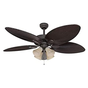 hunter 52 new bronze ceiling fan with light remote 54 oil rubbed and