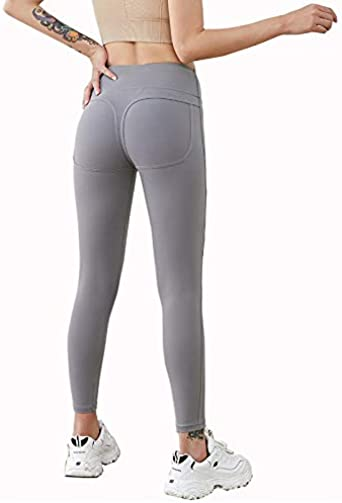 Lange Blickdicht Yoga Hose Sporthose Fitnesshose f/ür Fahrt Jogging Zueauns Damen Sport Leggins
