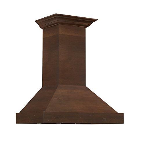 ZLINE 36 in. 760 CFM Designer Series Wooden Wall Mount Range Hood (KBRR-36) ()