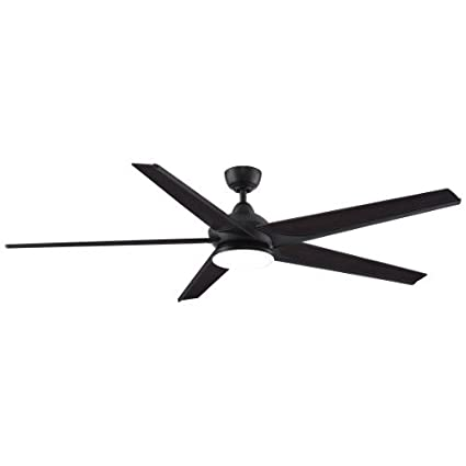 Fanimation Subtle - 72 inch - Dark Bronze with Bourbon Blades with on