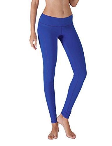 Girls Blue Sports Flare Pants - 9