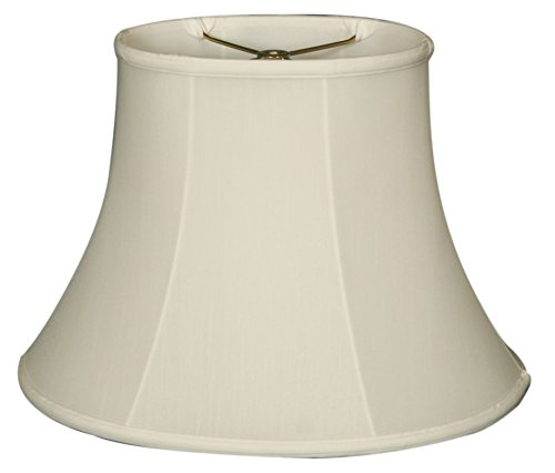 """Price comparison product image Royal Designs BS-725-14WH Oval Basic Lamp Shade,  (8.5"""" x 6"""") x (14"""" x 11"""") x 10"""",  White"""