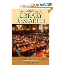 The Oxford Guide to Library Research 3th (third) edition Text Only pdf