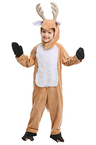 Adult Kids Deer Elk Big Bad Wolf Costume