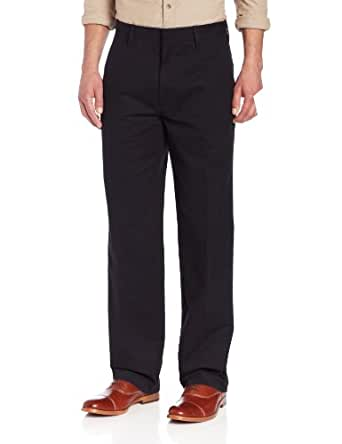 Haggar Life Khaki Pants - Straight Fit BLACK 33W 32L