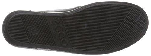 ECCO Soft 2.0, Sneaker Alte Donna Nero(black With Black Sole 56723)