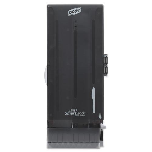 Dixie Ultra SSKD120 SmartStock Utensil Dispenser, Knife, 10quot; x 8.75quot; x 24.5quot, Translucent Gray by Dixie Ultra