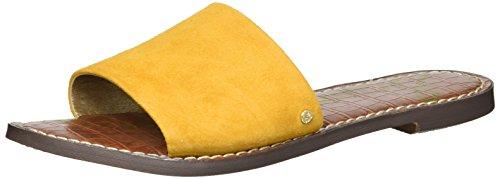 Women's Gio Sam Slide Edelman Sandal Yellow OHOgxwq