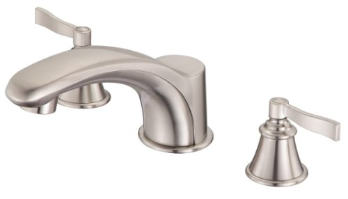 Danze D301525BNT Aerial Roman Tub Faucet Trim Kit, Brushed Nickel (Valve Not Included)