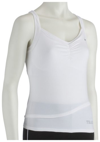Nike Women's Training Tank Top White QCpld
