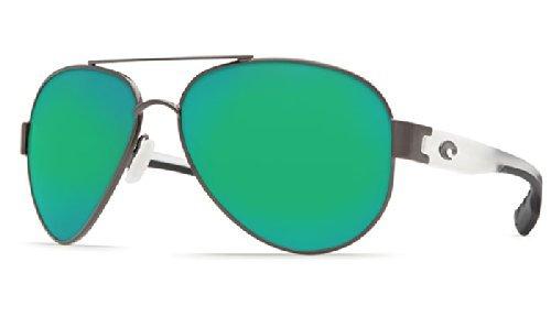 Sunglasses Mirror Point Del Costa Temples Gunmetalcrystal Green Mar South nIZz8Sq