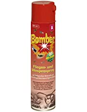 Kerbl 299734 Bomber 600 ml aerosolspray tegen vliegen en wespen