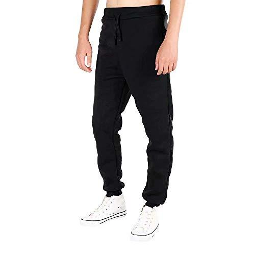 Pantalones Color Otoño Invierno Joggers Chándal De Leisure Sólido Slim Gym Fit Entrenamiento Battercake Gimnasio Negro Cómodo Holgados qXY6Rdqw