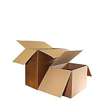 Double Wall Overlapping Flap Boxes - 800 x 500 x 300mm - Pack 5-40+ Sizes Available - Ref AODB Davpack