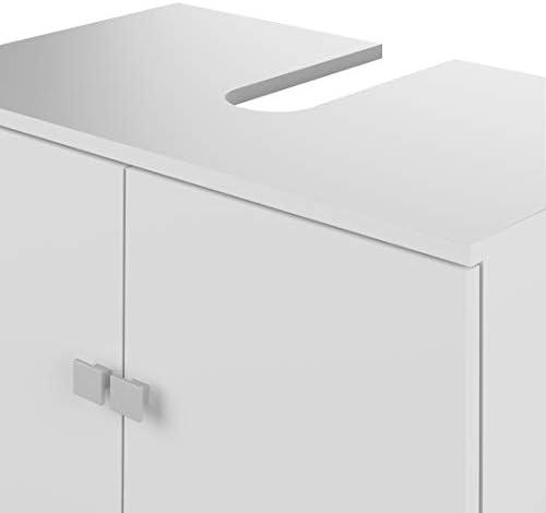 Bianco nobilitato Wood /& Colors Click A3 Mobile Lavabo Wei/ß 52.5 x 60 x 40 cm