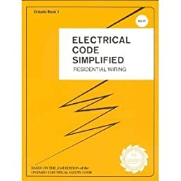 electrical code simplified residential wiring ontario book 1 p s rh amazon ca  residential electrical books