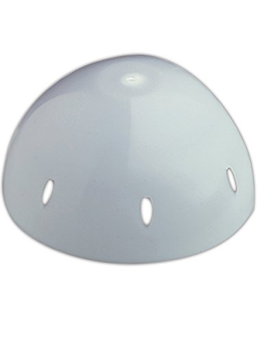 (Fibre-Metal Hard Hat SC01 Protective Shell Insert for Baseball Cap, White)