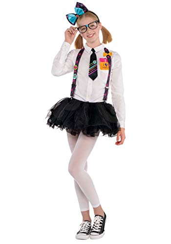 Amscan 848798 Girls Nerd Accessory Kit, Multicolor, Standard ()