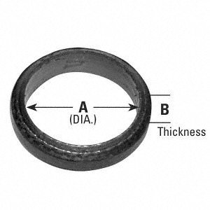 AP Exhaust Products 9007 Exhaust Pipe Connector Gasket
