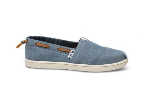 6d01161cdea Image Unavailable. Image not available for. Color  TOMS Chambray Bimini ...