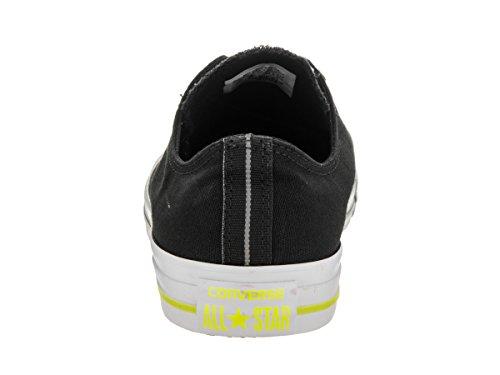 Converse Unisex - Adulto All Star Ox scarpe sportive nero Size UK 8 / EU 41.5