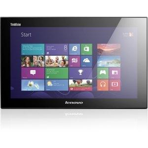 "Lenovo ThinkVision LT1423p 13.3"" LED LCD Touchscreen Monitor - 16:9 - 35 ms - Multi-touch Screen - 1600 x 900 - WXGA - 262,000 Colors - 500:1 - 200 Nit - USB - Raven Black - RoHS, China RoHS - 3 Year - 60A3UAR2US"