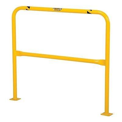 Vestil HPRO-48-42-2 Yellow Powder Coat High Profile Machinery Guard, Welded Steel, 1-5/8