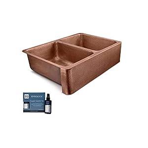 31ci6ZxSRdL._SS300_ Copper Farmhouse Sinks & Copper Apron Sinks
