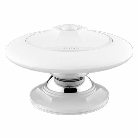 LED Detector de movimiento forma Oval 0.8 W 30LEDs cuerpo giratorio 360??Grados y