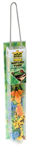 Wild Republic Frog in Nature Tube (Poison Dart Tree Frogs)