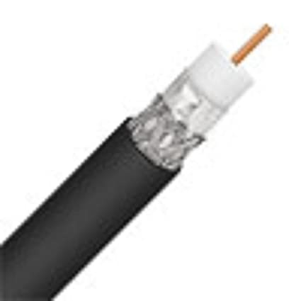 Perfect Vision ULPVRG6BLK Single RG-6 Coax Cable - 1000 ft (Reel in a