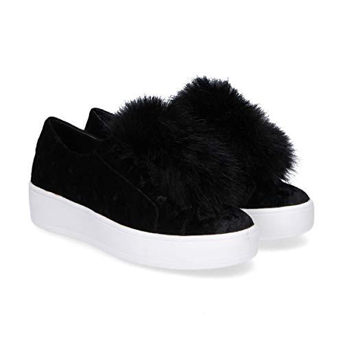 Breezeblack Madden Velluto Slip Nero Sneakers Donna On Steve XYx4HH