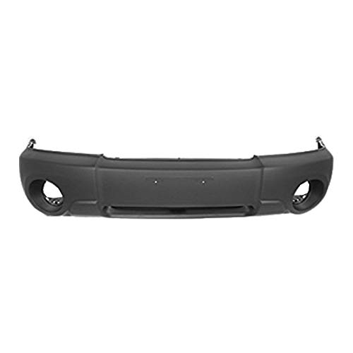 MBI AUTO - Primered, Front Bumper Cover Fascia for 2003 2004 2005 Subaru Forester 03 04 05, SU1000143 -