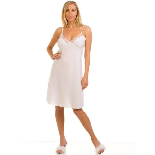 wacoal women39s embrace lace chemisemorning glory luxel With fond de robe blanc pas cher