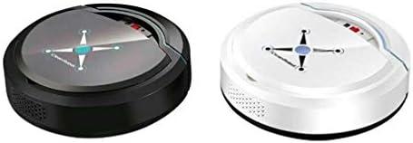 Mdsfe Robot de Nettoyage Automatique Rechargeable Robot de Balayage Intelligent Dirt Dust Dust Hair Cleaner Automatique pour Les aspirateurs électriques domestiques - Blanc, A3