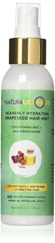Heavenly Hydration Grapeseed Hair Mist by Naturalicious