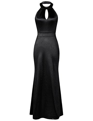 Retro Keyhole Dress - 4