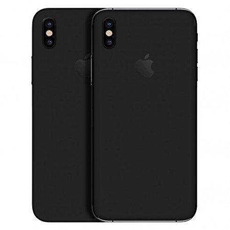 newest 1fda5 85e5c Gadgets Wrap N0-3B7F-S4UW Skin Sticker for Apple iPhone X (Black)