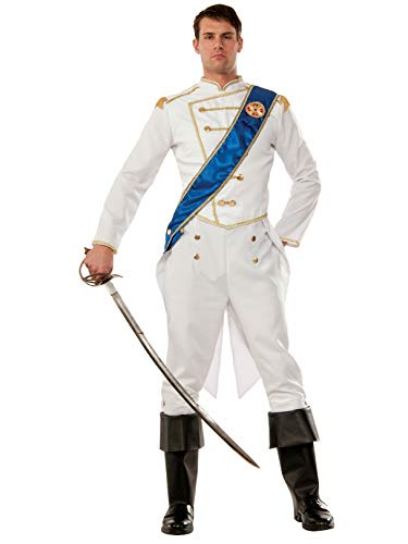Cinderella And Prince Halloween Costumes (Forum 75654 Men's Happily Ever After Prince Costume, One Size, Multicolor, Pack of)