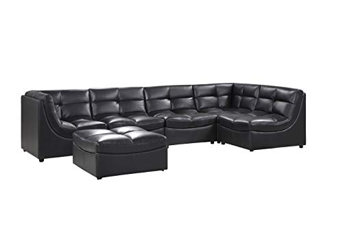 Amazon.com: Best Master Furniture 9148 Cloud 6 Piece Modular ...