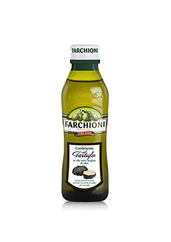 (Black truffle Extra Virgin olive oil, Farchioni, 8.45 fl. oz Made in Italy)