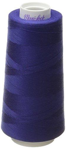 - American & Efird Maxi-Lock Cone Thread 3000 Yards-Royal Blue